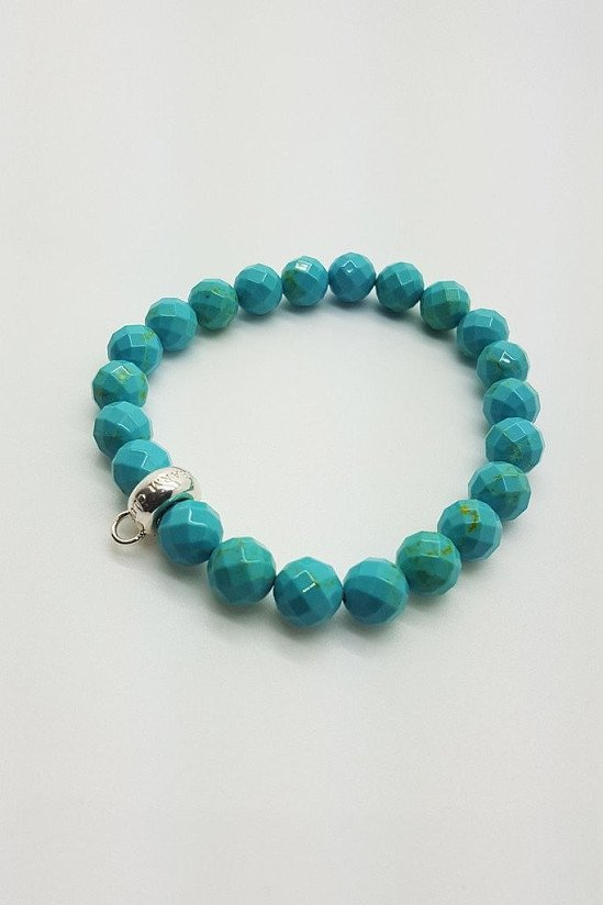 SALE - Thomas Sabo turquoise charm carrier bracelet - medium!