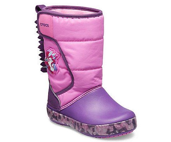 NEW - Kids' Crocs Fun Lab Unicorn Lights Boot £54.99!
