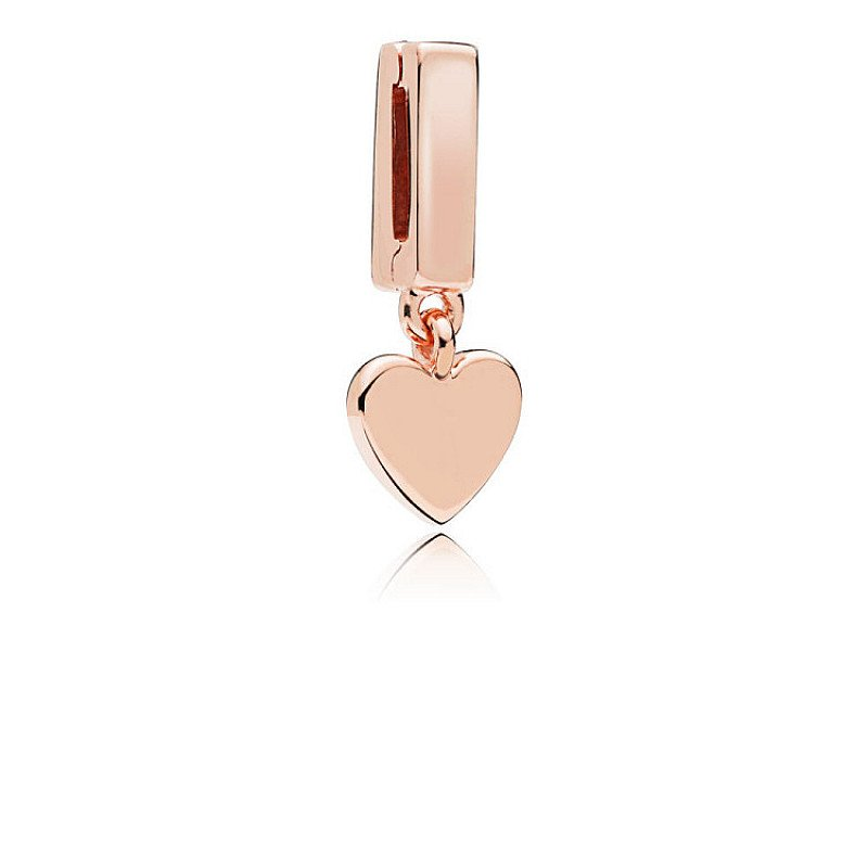 NEW - PANDORA REFLEXIONS FLOATING HEART CLIP CHARM: £35.00!