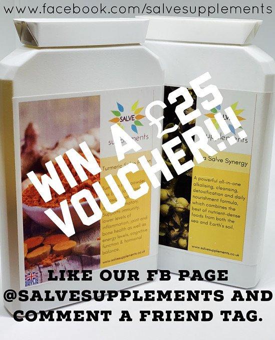 Win a £25 voucher from Salve Supplements