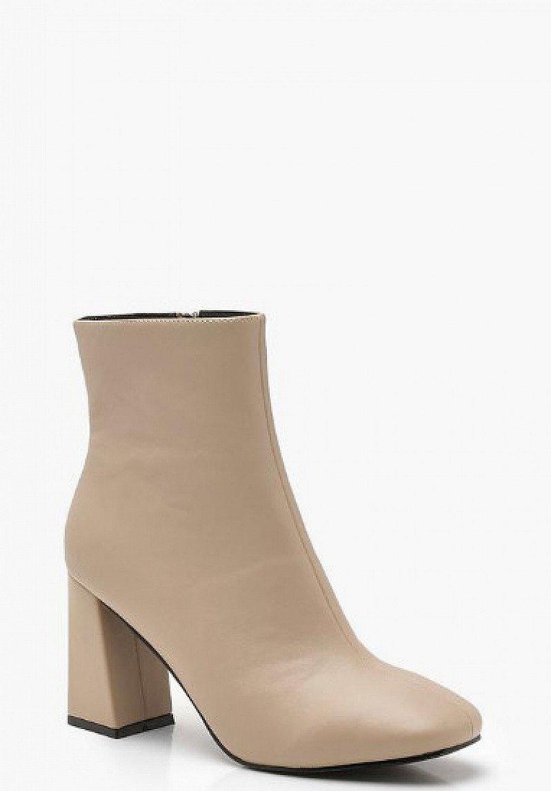 30% OFF - Flared Heel Shoe Boots!