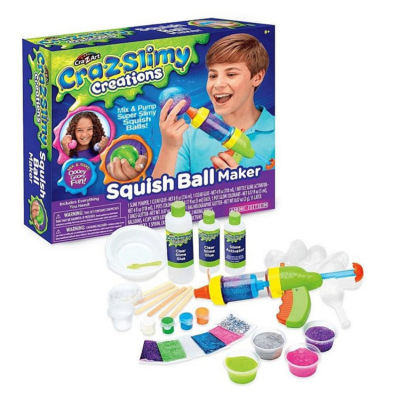 Cra-Z-Slimy Squish Ball Maker at £23.00