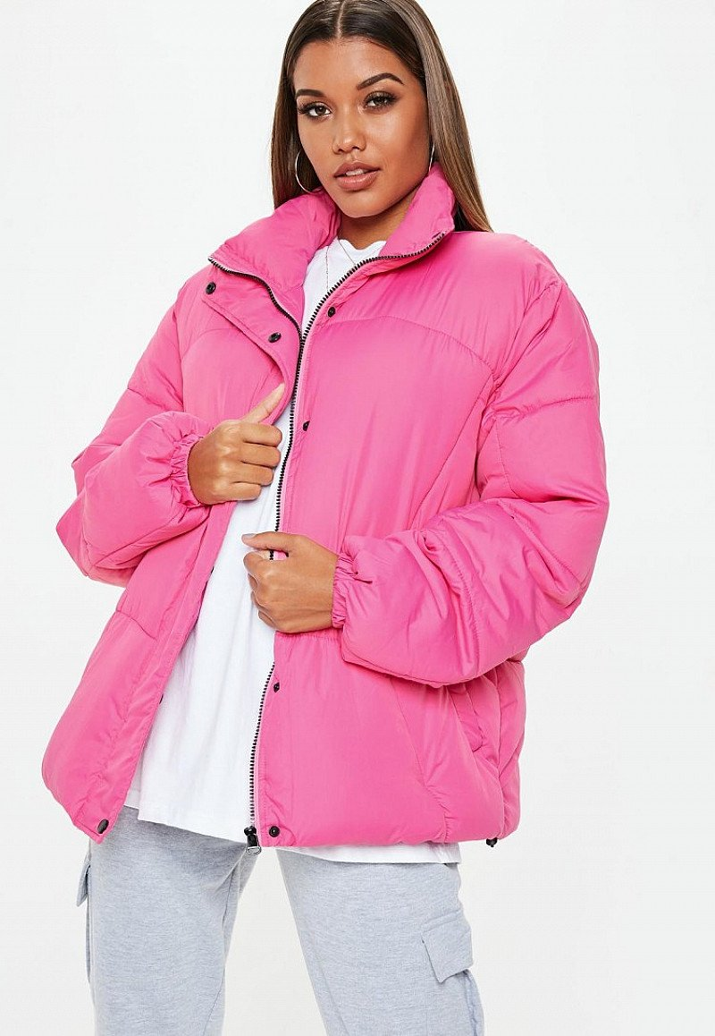 SAVE £23.00 - pink ultimate oversized puffer jacket!