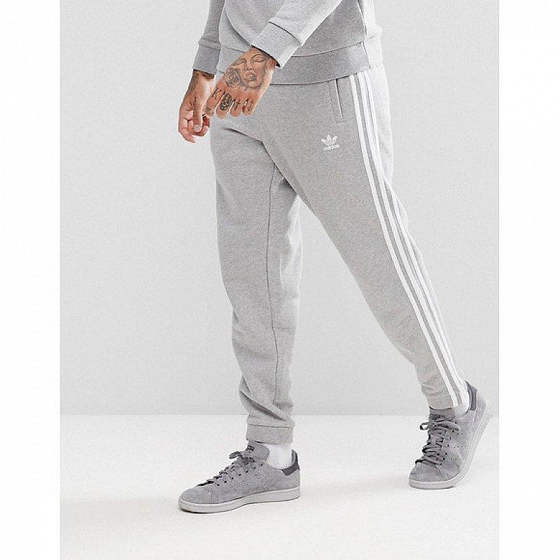 SAVE £22.00 - adidas Originals adicolor 3-Stripe Joggers In Grey!