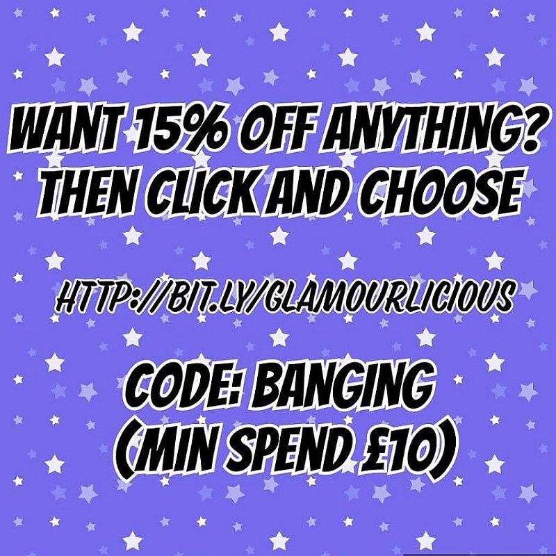 15% off EVERYTHING OMG!!!!!!!!!!!!!!!!!!!!!!