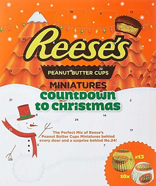 NEW - Reese's Peanut Butter Cups Miniatures Countdown to Christmas Advent Calendar: £5.00!