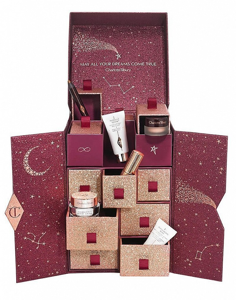 Celebrate the countdown to Christmas with Charlotte Tilbury!