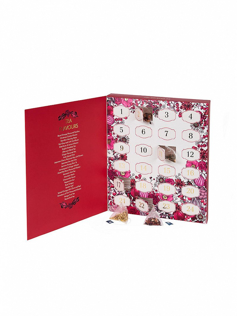 Tea lovers, this advent calendar is for you!