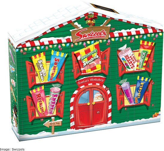 Swap the chocolate for sweets this advent!