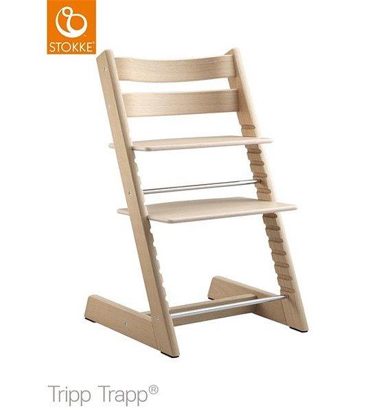 SAVE £34.00 - Stokke Tripp Trapp Highchair - Oak White!