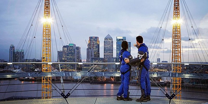 GET 20% OFF GIFT IDEAS - Climb The O2 in London: £24.00!