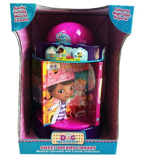 SAVE £20.00 - Parragon Disney Doc Mcstuffins Sweet Dreams Library!