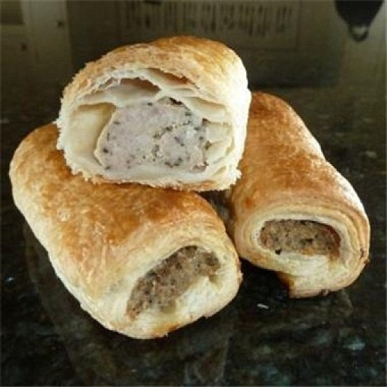 Try our prize-winning sausage rolls!