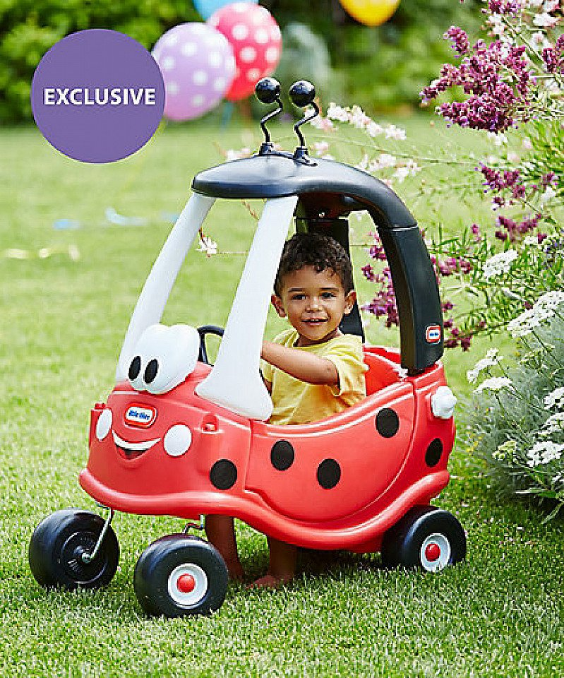 EXCLUSIVE CHRISTMAS GIFTS - Little Tikes Ladybird Cozy Coupe!
