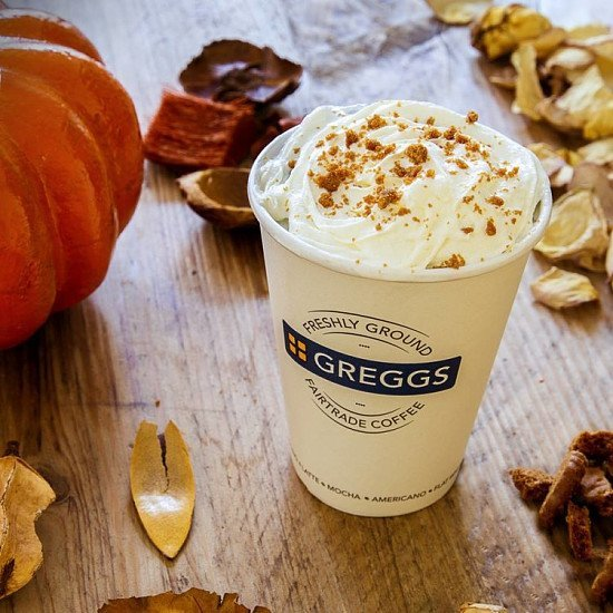 Introducing our Pumpkin Spice Latte