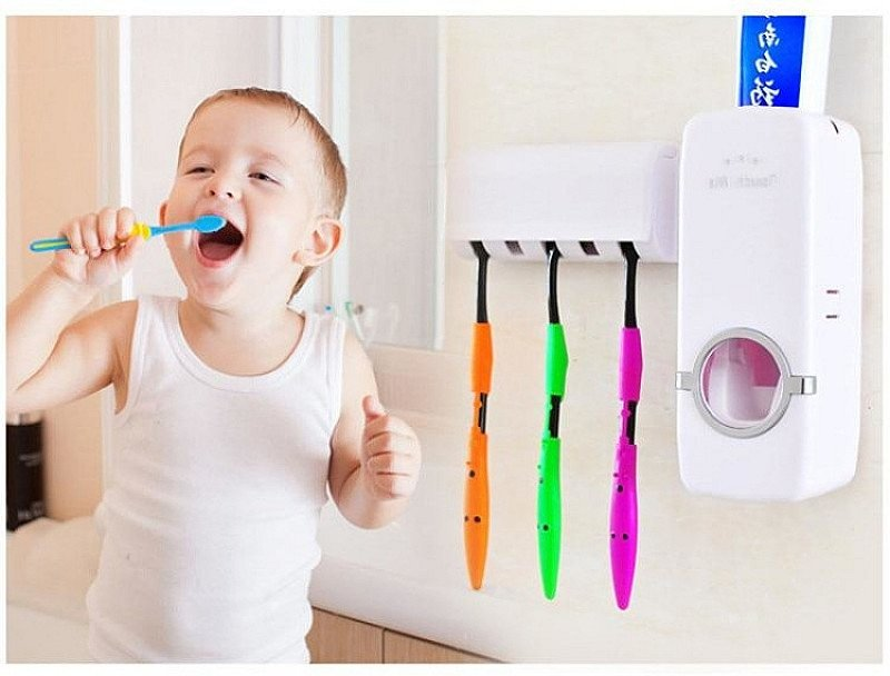 Automatic Toothpaste Dispenser Buy 2 And Get 10-15% Off Plus A Free Watch!!!!