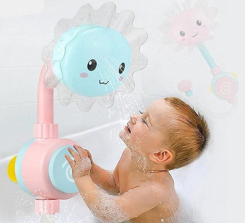 Folding Spray Shower Head Toy - Buy 2 And Get 10-15% Off Plus A Free Watch!!!!
