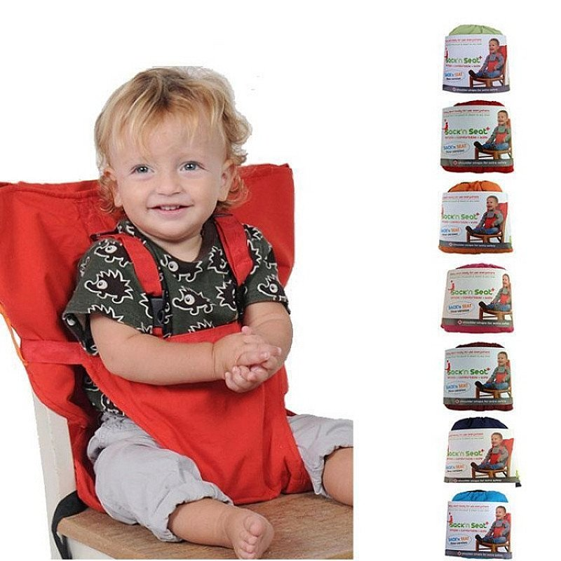 Baby Portable Chair Safety Belt - Hook On Seat - Buy 2 And Get 10-15% Off Plus A Free Watch!!