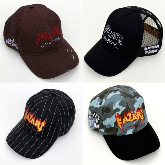 ENTER COMPETION AND WIN THESE DESIGNER HATS!