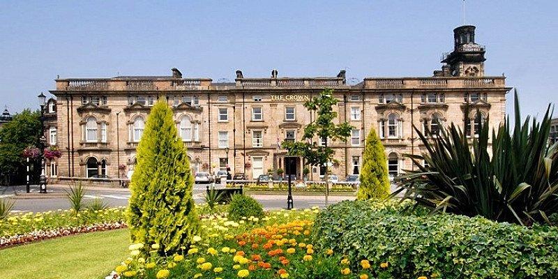 £99 – Harrogate getaway w/meals, wine & cream tea: 56% OFF!