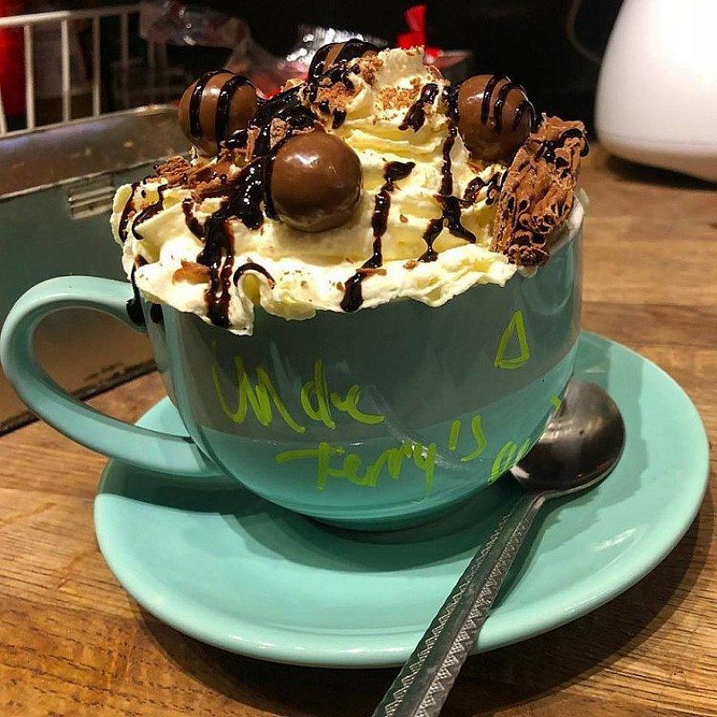 Winter calls for Mega Hot Chocolates - Come in store to warm up this Winter!