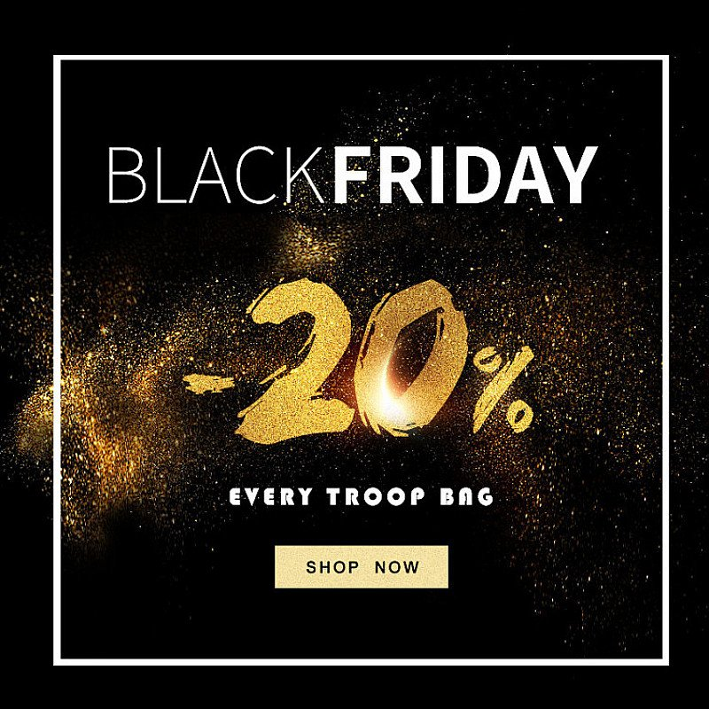 Win a Troop London Bag this BLACK FRIDAY !