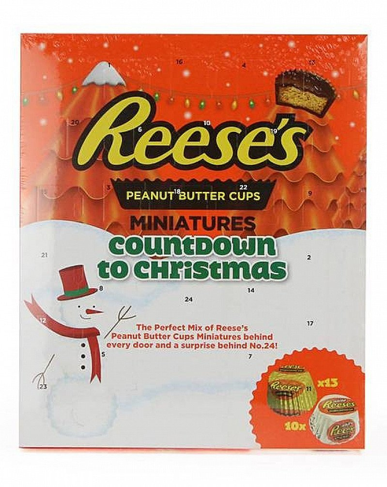 NEW - Reese's Peanut Butter Cups Miniatures Countdown to Christmas Advent Calendar, £5.00!