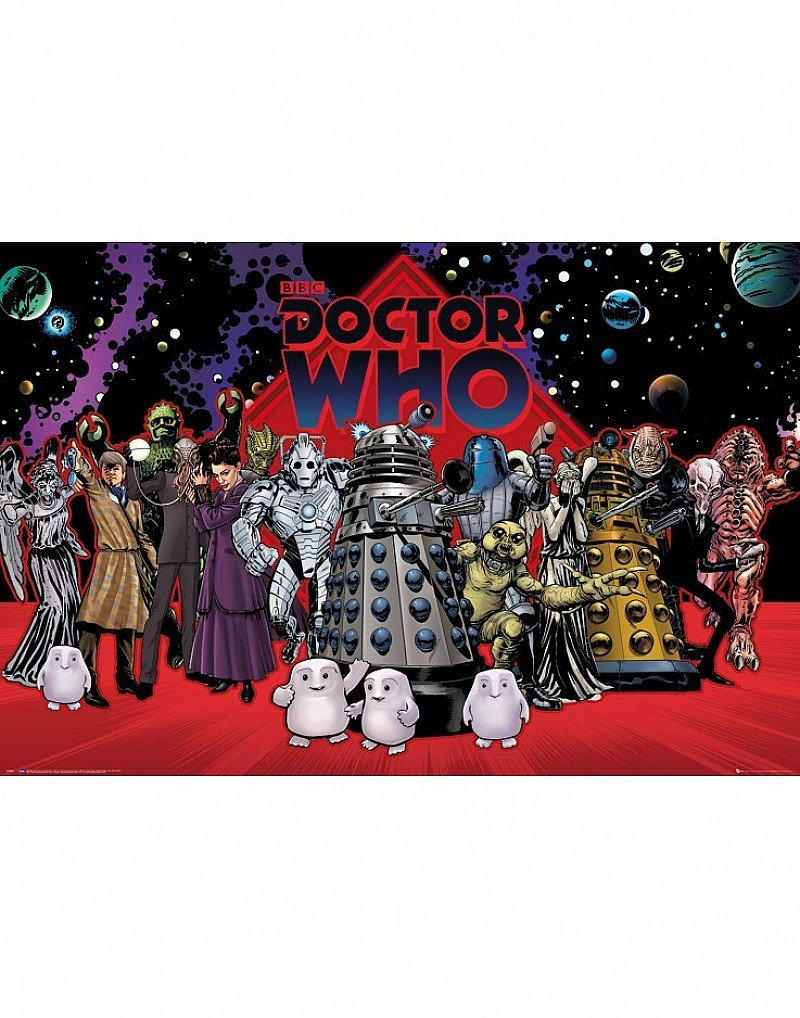 SALE - DOCTOR WHO COMPILATION MAXI POSTER!