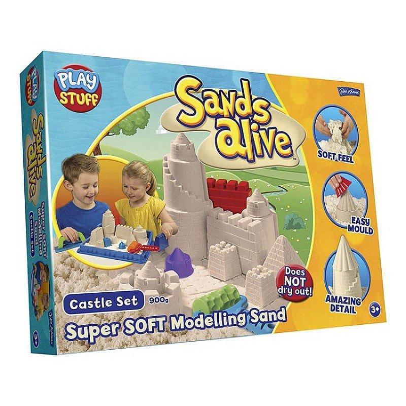 CHRISTMAS GIFTS - SANDS ALIVE SUPER SANDS CASTLE!
