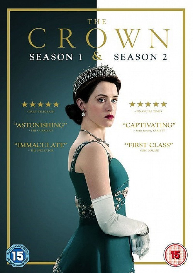 SAVE - The Crown: Season One and Two!