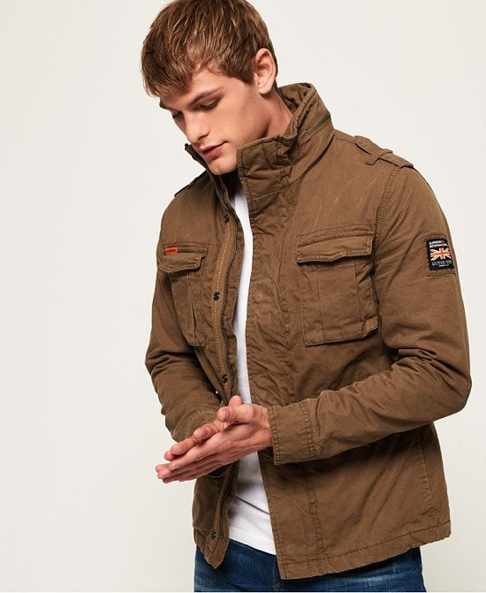 STAY WARM - Classic Rookie Military Jacket, £89.99!