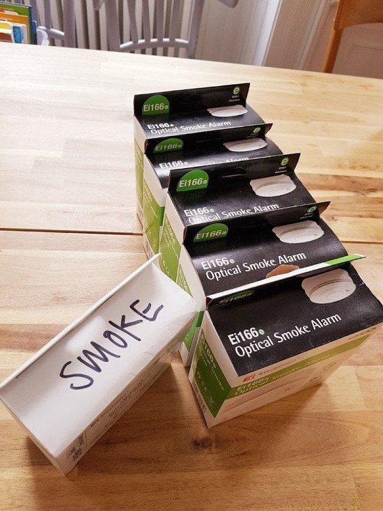 WIN 8 Smoke alarms