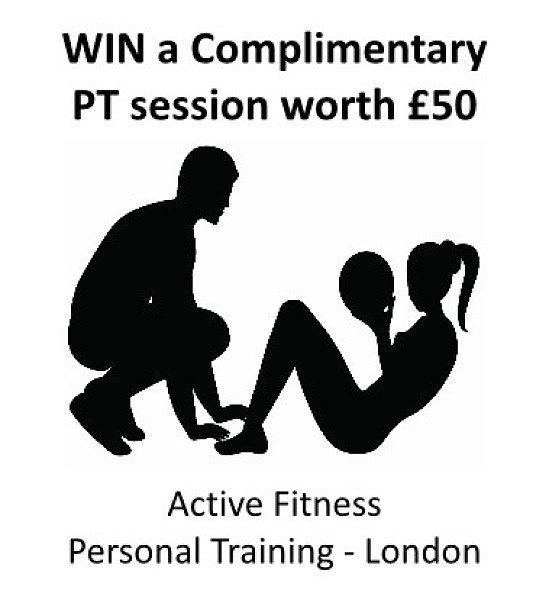 WIN - Complimentary PT Session worth £50