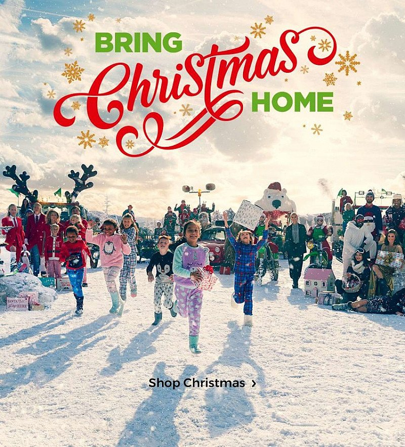 BRING CHRISTMAS HOME - DELIVERY SLOTS FOR CHRISTMAS!