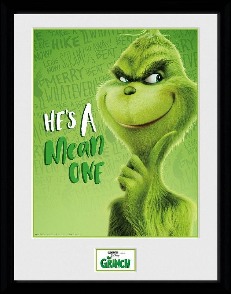 SALE - THE GRINCH SOLO COLLECTOR PRINT!