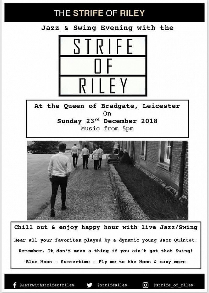 We are so looking forward to the return of the 'Strife of Riley'