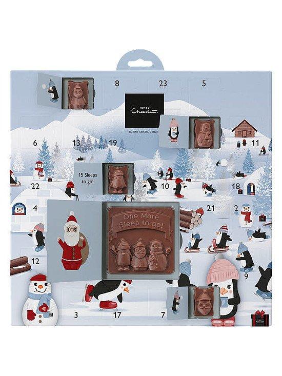 CHRISTMAS ADVENT CALENDARS - Hotel Chocolat Up to Snow Good Advent Calendar £8.00!