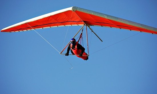 Learn to hang-glide from £135!