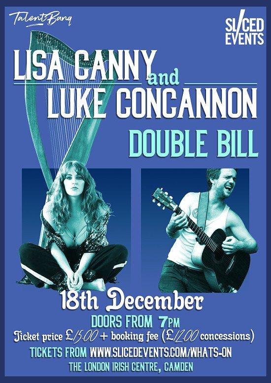 Win 4 Tickets - Lisa Canny & Luke Concannon LIVE