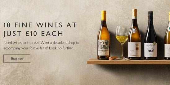 10 FINE WINES AT JUST £10.00 EACH!