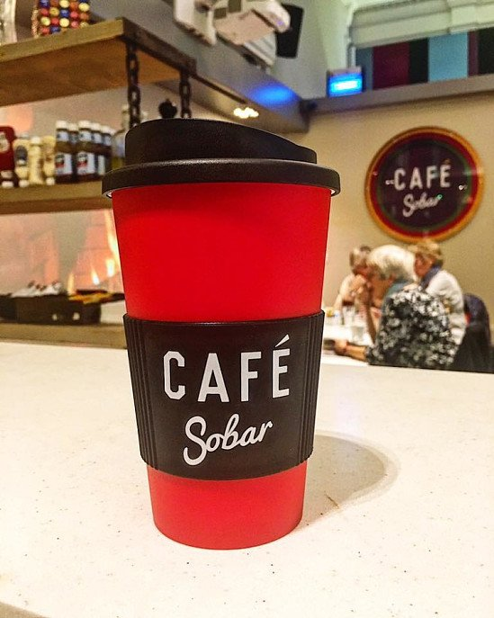 CAFE SOBAR REUSABLE CUPS NOW IN FULL SWING!