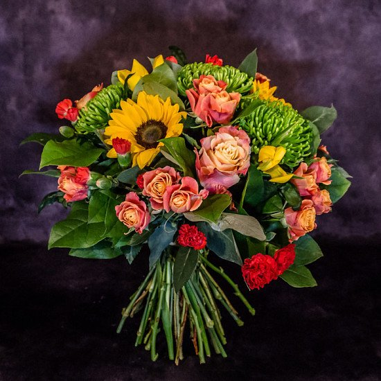 Win a Gorgeous Hand Tied Bouquet of Flowers for delivery anywhere in the UK