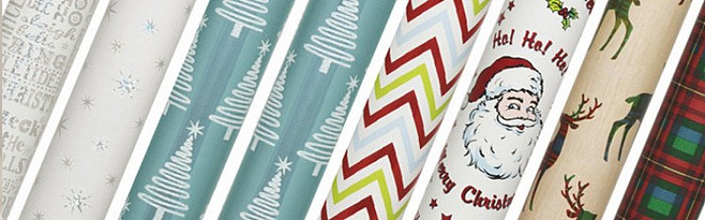 UP TO HALF PRICE ON WRAPPING PAPER!