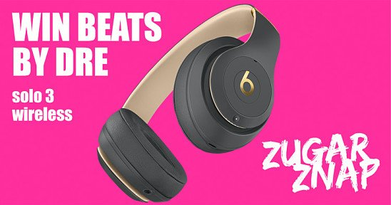 WIN a pair of BEATS SOLO 3 Wireless Headphones