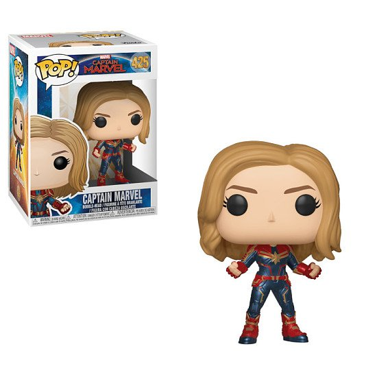 NEW IN: Captain Marvel Pop! Vinyls