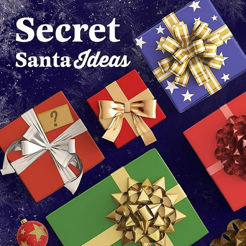 Free Delivery on orders over £40.00 - Shop Secret Santa Gift Ideas