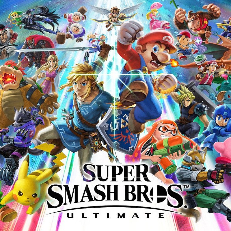 SUPER SMASH BROS. ULTIMATE- OUT NOW