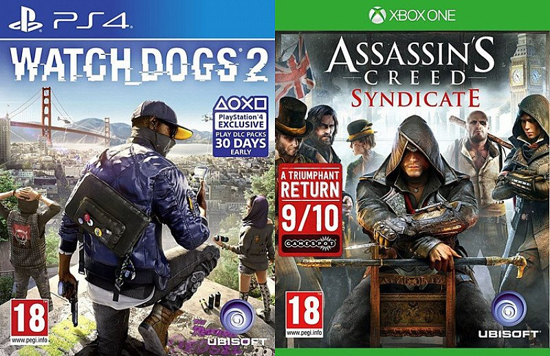 Games 2 for £30