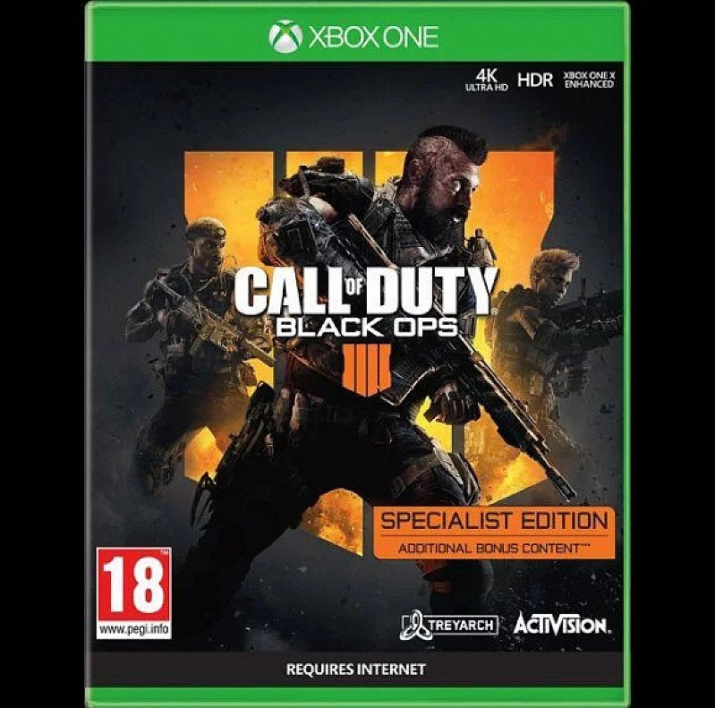 SAVE- CALL OF DUTY: BLACK OPS 4 SPECIALIST EDITION - ONLY AT GAME