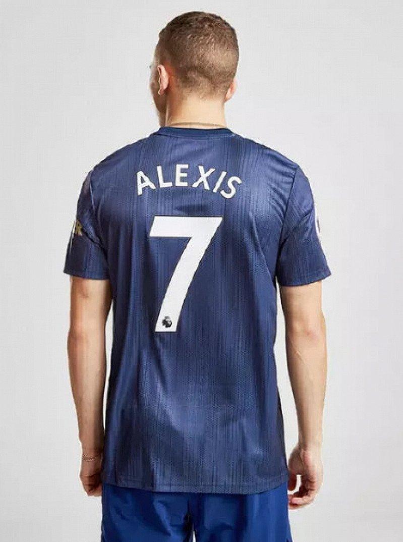 Save- adidas Manchester United FC 2018/19 Alexis #7 Third Shirt